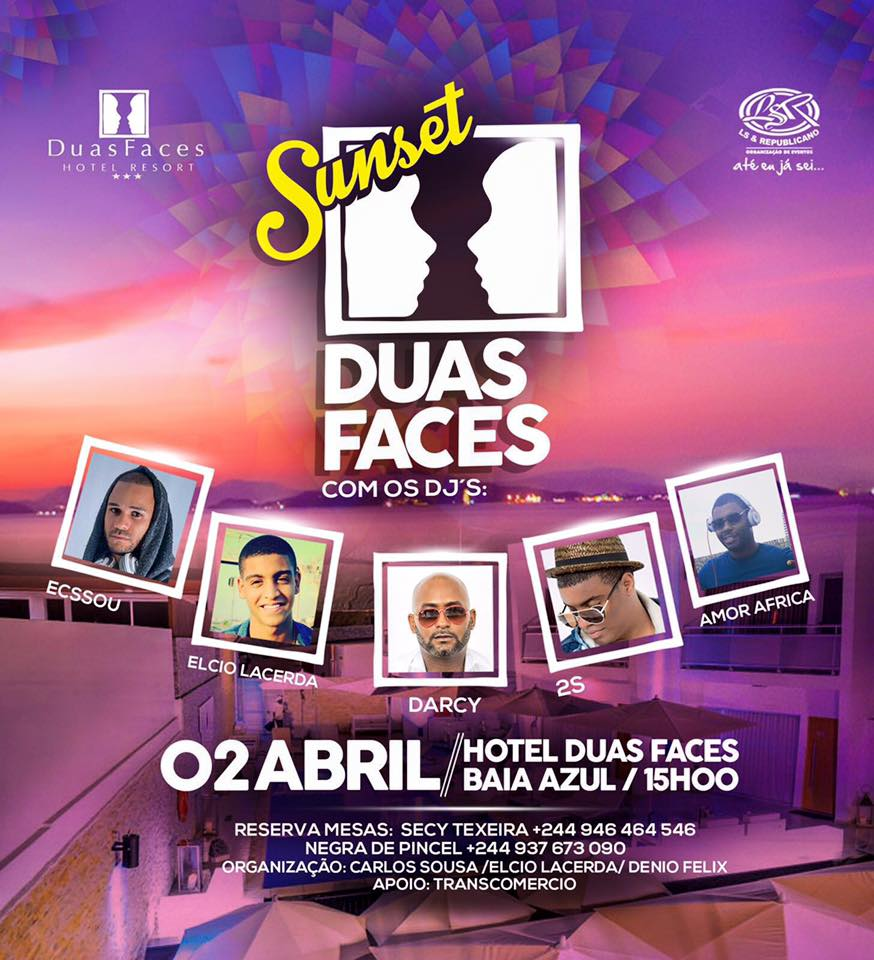 SUNSET BY DUAS FACES